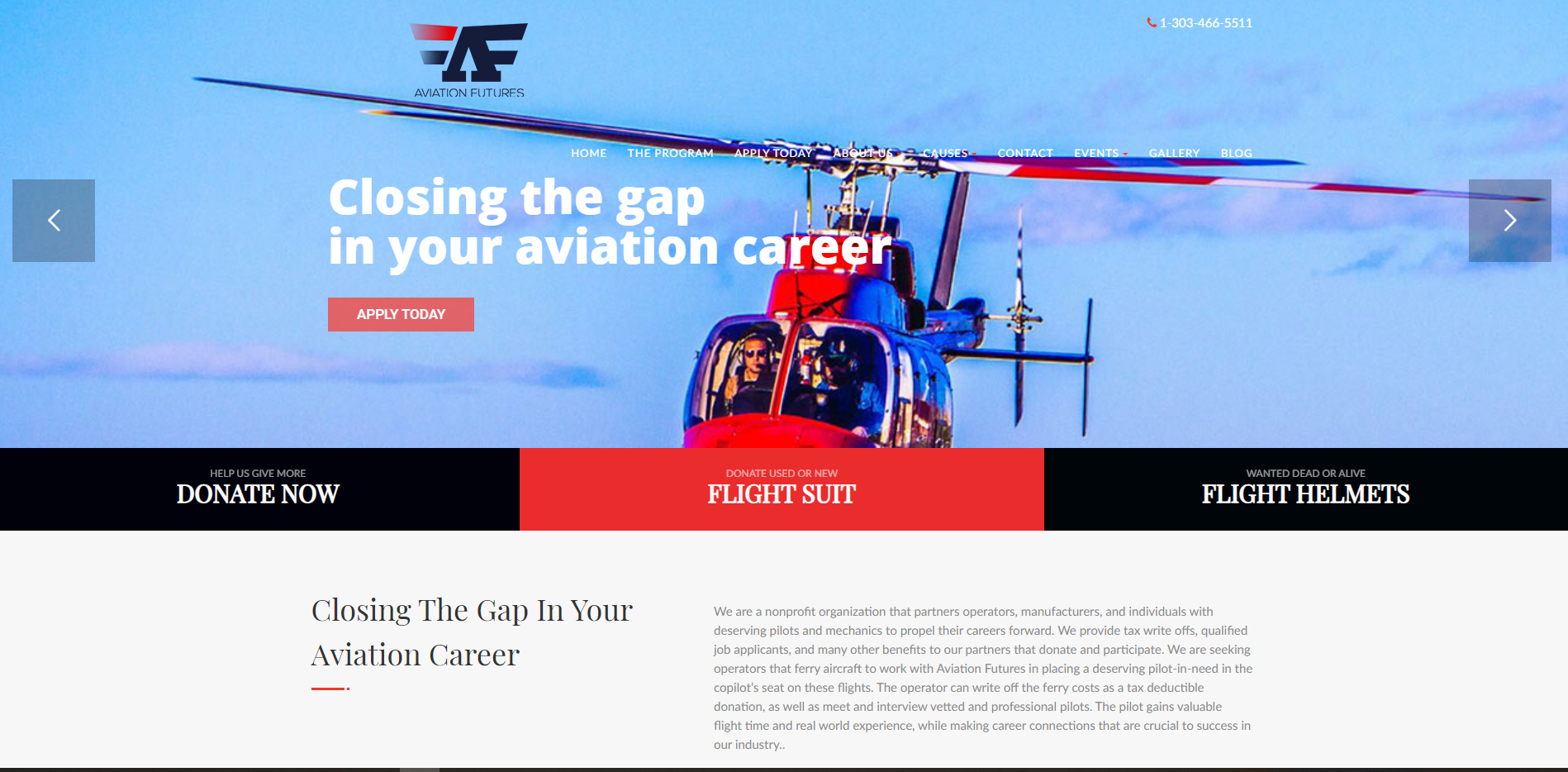 Aviation Futures, helping out new Helicopter Pilots
