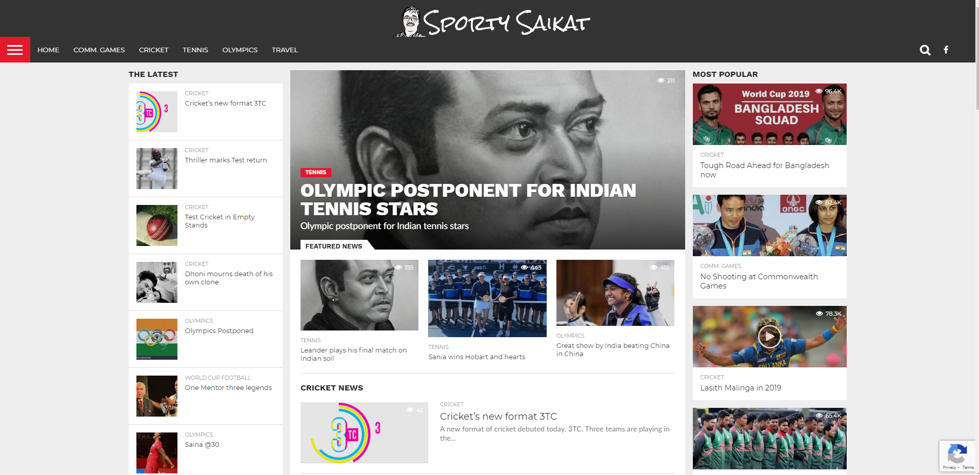 Sports blog, Sporty Saikat